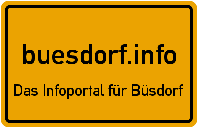 buesdorf.info